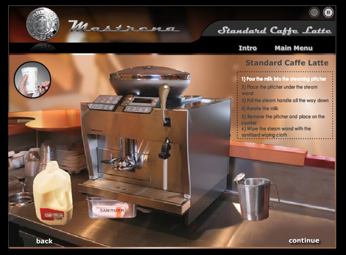 espresso machine starbucks
