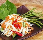 Somtum (Papaya Salad) ส้มตำ