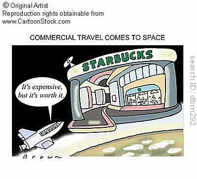 Commercial travel comes to space