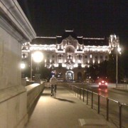 Look from Chain Bridge to Parliament